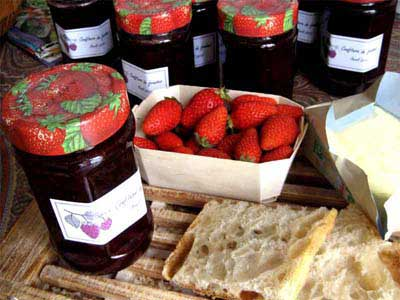 Photo Confiture de fraises
