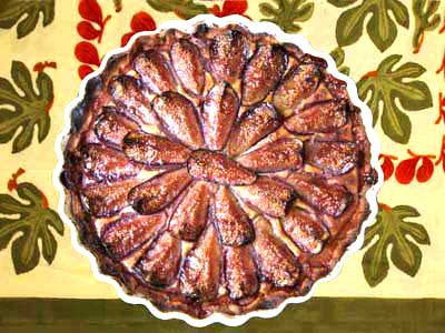 Photo Tarte aux figues