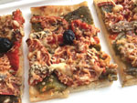 Photo Pizza aux poivrons