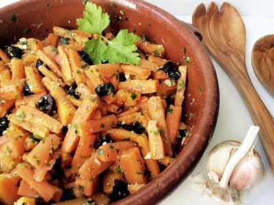 salade de carottes cuites au cumin la marocaine. Black Bedroom Furniture Sets. Home Design Ideas