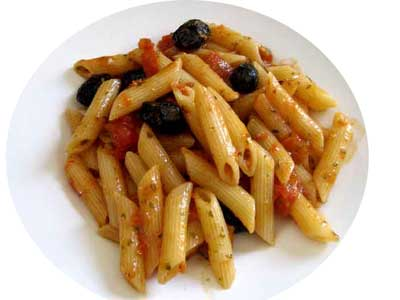 Photo Penne aux olives