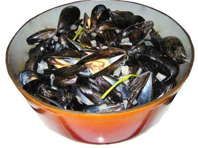 Photo Moules marinière