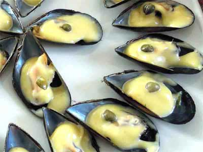 Photo Moules mayonnaise